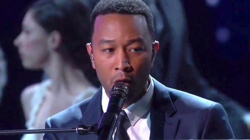 OSCAR 2017: John Legend Nyanyi 'City of Stars', La La Land Jadi Nyata di Panggung