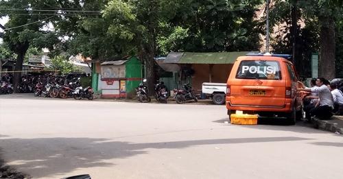 Foto-Foto Pengepungan Pelaku Ledakan di Bandung