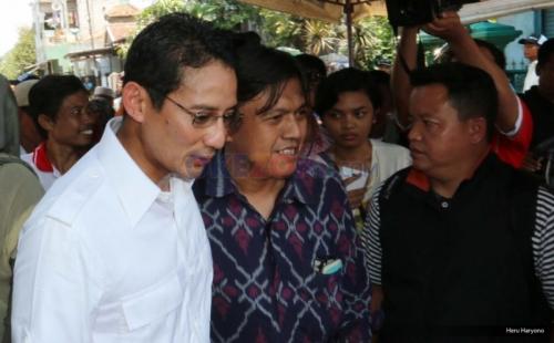 Diterpa Kampanye Hitam, Sandiaga: Harus Sabar, Tawakal, dan Tetap Berdoa