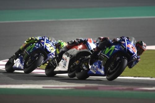 Juara Seri Perdana MotoGP 2017, Maverick Vinales Sulit di Lap-Lap Awal