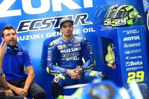 Suzuki Ecstar Muak dengan Penampilan Andrea Iannone