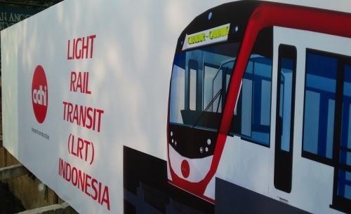 Terhambat Pemudik, Pembangunan LRT Dikebut Malam Hari