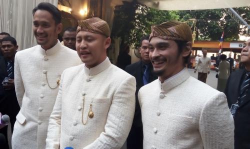 Sederet Pejabat dan Selebriti Hadir di Pernikahan Moreno Dan Noorani Sukardi