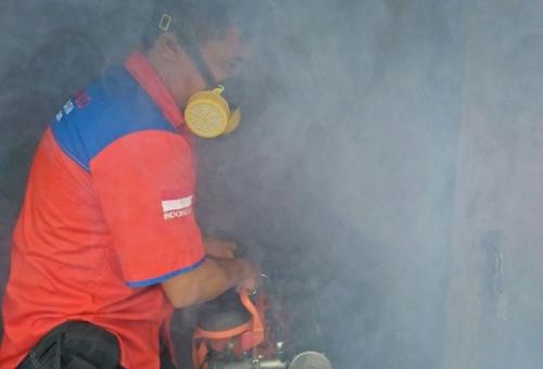 Mantap! Selain ke Permukiman, Rescue Perindo Juga Bakal Basmi Nyamuk di Lapas Banyuasin