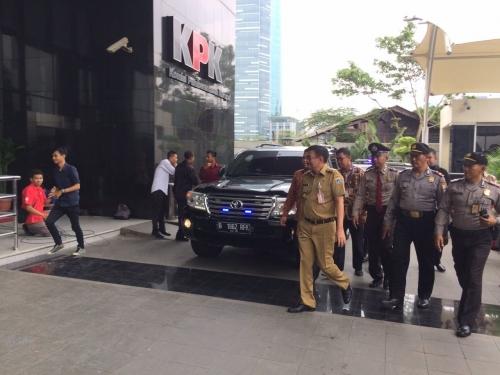 Gubernur DKI Djarot Sambangi KPK, Ada Apa?