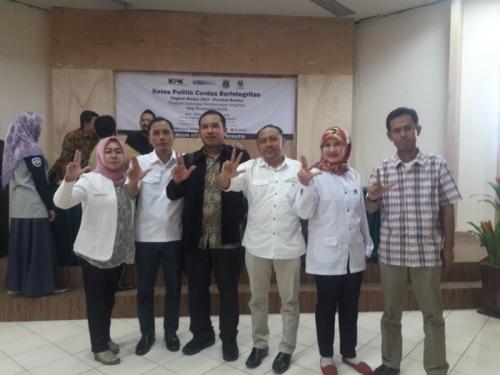 Salut! Tingkatkan Kualitas Kader, Perindo Banten Ikuti Kelas Politik Cerdas Berintegritas KPK