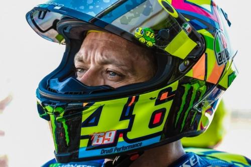 Mentas Tak dalam Kondisi Fit 100%, Valentino Rossi: Saya Tahu Race Akan Berjalan Sulit