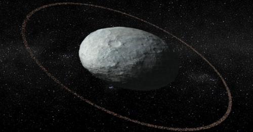 Wih! Ada Cincin di Planet Kerdil Haumea