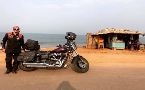 KEREN, Wanita India Solo Travelling dengan Moge Tempuh Perjalanan 2 Ribu Km Selama 18 Tahun!