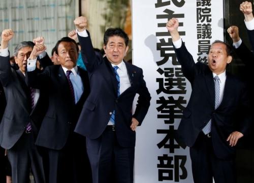 Banzai! Dipastikan Kembali Terpilih sebagai PM Jepang, Abe Siap Rombak Konstitusi