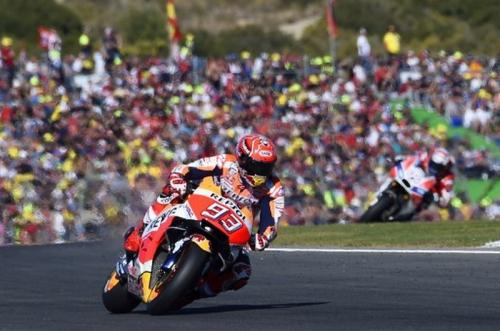 Marc Marquez Akui Menderita di Paruh Pertama MotoGP 2017