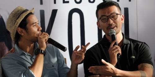Main Film Bareng Rio Dewanto Lagi, Chicco Jerikho: Kutukan Sih Kayaknya