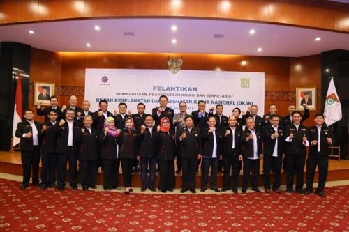 Menaker Lantik Dewan Keselamatan dan Kesehatan Kerja Nasional