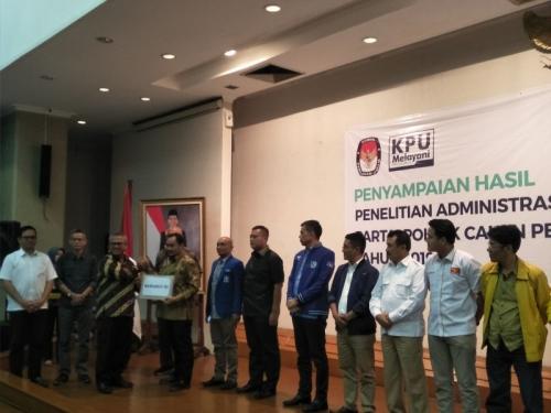 Partai Berkarya dan Garuda Dinyatakan Tak Lolos Penelitian Perbaikan Administrasi