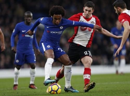 Chelsea Ungguli Southampton 1-0 di Babak Pertama