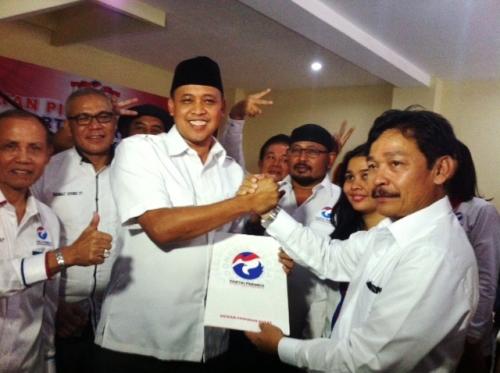 Partai Perindo Resmi Dukung Paslon Petahana di Pilwalkot Bekasi