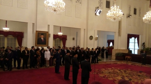 Reshuffle Kabinet, Presiden Jokowi Tak Utak-atik Tim Ekonomi