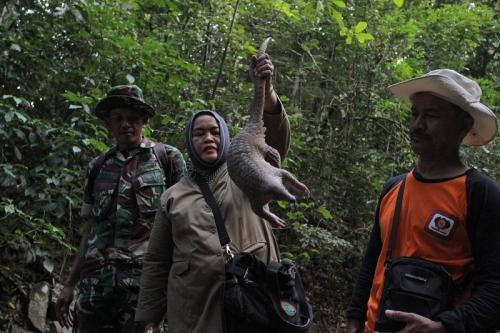 3 Satwa yang Diamankan dari Warga Dilepasliarkan di Hutan Aceh