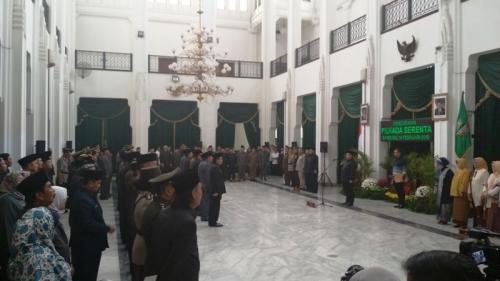 Gubernur Aher Kukuhkan 7 Pjs Bupati & Wali Kota di Jabar