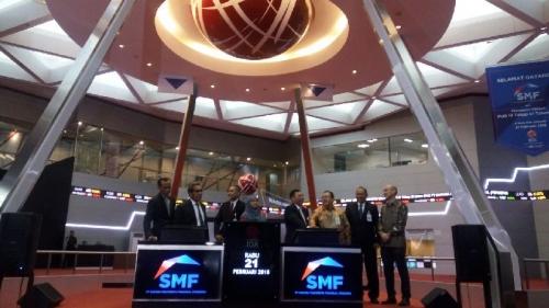 Obligasi SMF Rp2 Triliun Resmi Melantai di BEI