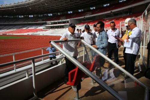 Isak Tangis Menteri Basuki Pecah saat Stadion GBK Dirusak
