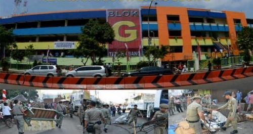 Pembangunan TPS Pasar Blok G Tanah Abang Dilakukan Awal April 2018