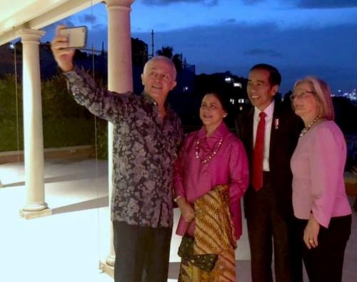 Makan Malam dengan PM Australia, Presiden Jokowi Cerita Tentang Anak Cucu