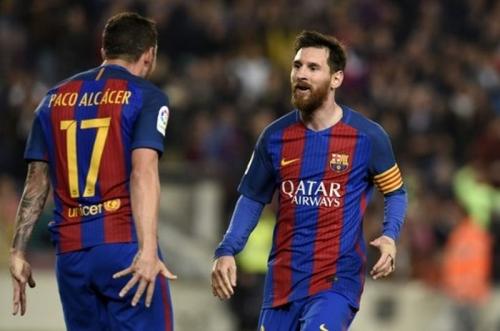 Alcacer Sanjung Messi yang Jadi Inspirasi Kesuksesan Barca