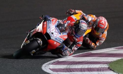 Marquez: Dovizioso Pantas Menang di MotoGP Qatar