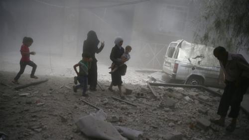 120 Ribu Orang Tinggalkan Ghouta Timur Dalam Delapan Hari