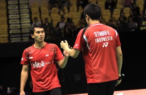 Hendra/Ahsan Sebet Gelar Juara Malaysia IC 2018