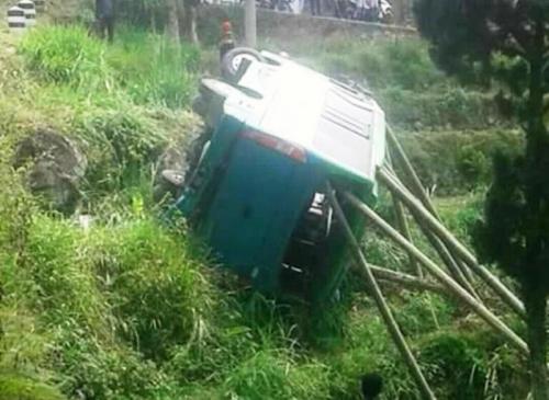 Minibus Terjun ke Sawah di Magetan, Ini Identitas Korban Tewas dan Luka Berat