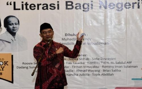 Mendikbud: Kartini Ibu Literasi Indonesia