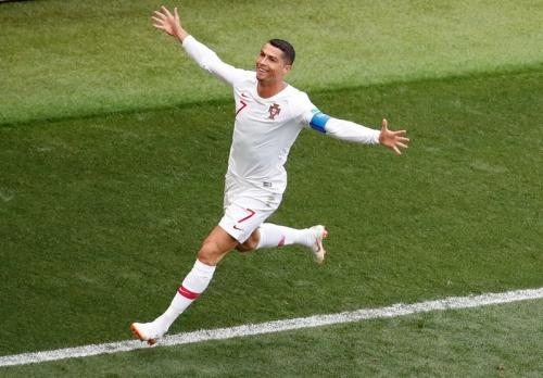 Ada Kesamaan saat Ronaldo Cetak Gol Pertama di 2 Laga Piala Dunia 2018