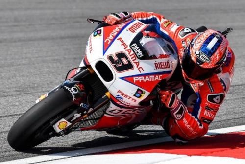 Petrucci Harap Tak Alami Masalah pada Ban di MotoGP Belanda 2018