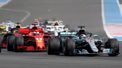 Hasil Race F1 GP Prancis 2018: Lewis Hamilton Tampil Tanpa Celah