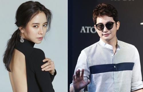 KBS Rilis Foto Misterius Song Ji Hyo dan Park Si Hoo
