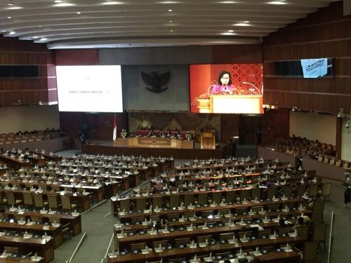 Sri Mulyani Laporkan Hasil Kinerja APBN 2017 ke DPR, Direspons Kritikan