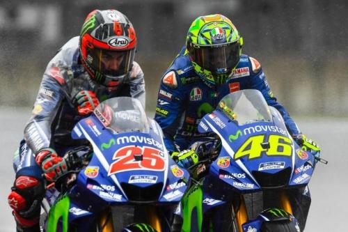 Manajer Tim Yamaha Puas dengan Hasil Rossi dan Vinales di MotoGP Jerman 2018