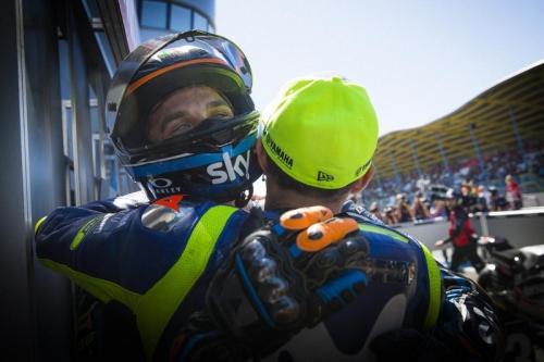 Rossi Bangga Lihat Keberhasilan sang Adik di Sirkuit Sachsenring