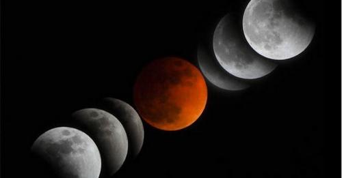 Penampakan Terlama, Ini Proses Gerhana Bulan pada 28 Juli 2018