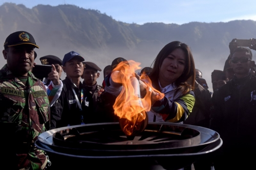 INASGOC Harap Api Obor Asian Games 2018 Dapat Tularkan Semangat ke Masyarakat