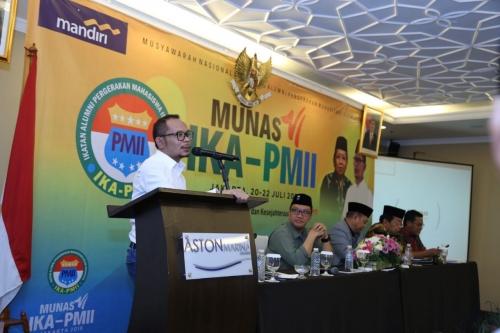 Secara Mufakat, Muqowam-Hanif Kembali Pimpin IKA PMII