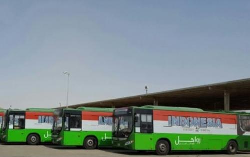 Musim Haji, 394 Bus Sholawat Siap Beroperasi di 11 Rute Seluruh Makkah