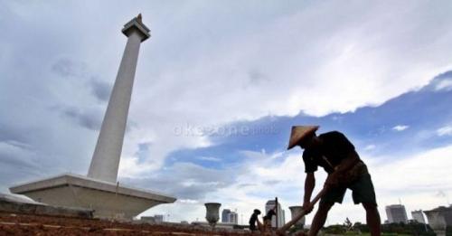 Awal Pekan, Cuaca Ibu Kota Cerah Berawan